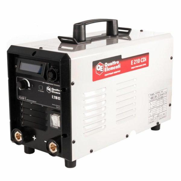 Инверторный сварочный аппарат QUATTRO ELEMENTI E 210 CDi