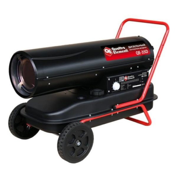 Дизельный нагреватель QUATTRO ELEMENTI QE-35D