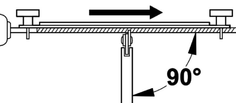 Правильное направление работы при заточке цепи