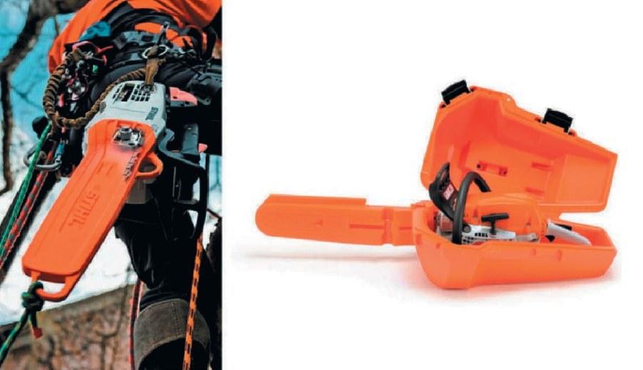 Защитный кожух цепи и футляр для транспортировки