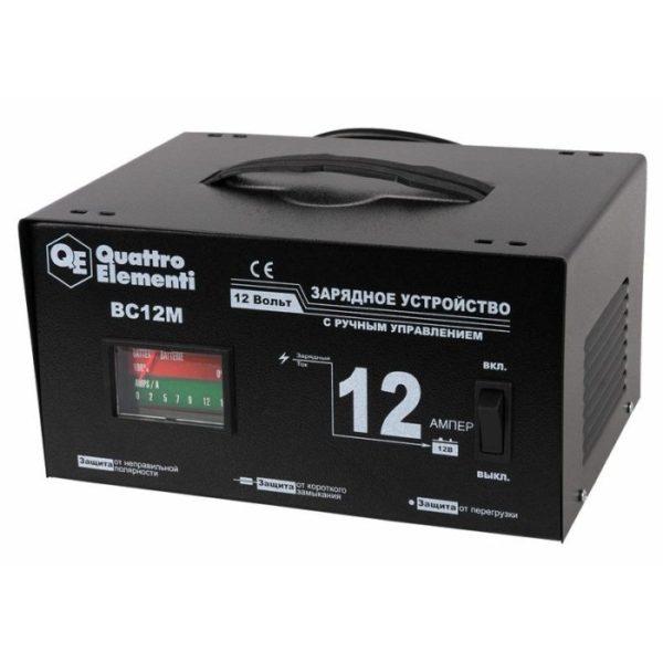 Зарядное устройство QUATTRO ELEMENTI BC12M