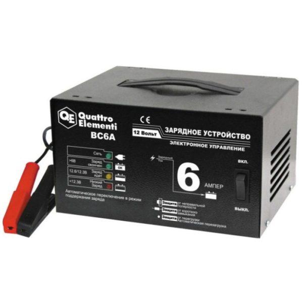 Зарядное устройство QUATTRO ELEMENTI BC6A