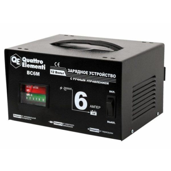 Зарядное устройство QUATTRO ELEMENTI BC6M