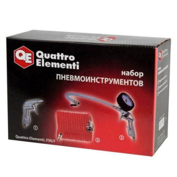 Набор пневмоинструментов QUATTRO ELEMENTI 3 предмета