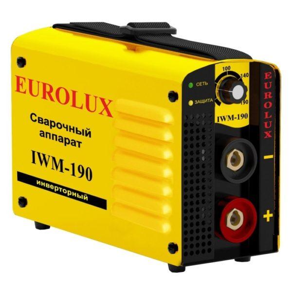 Инверторный сварочный аппарат EUROLUX IWM190