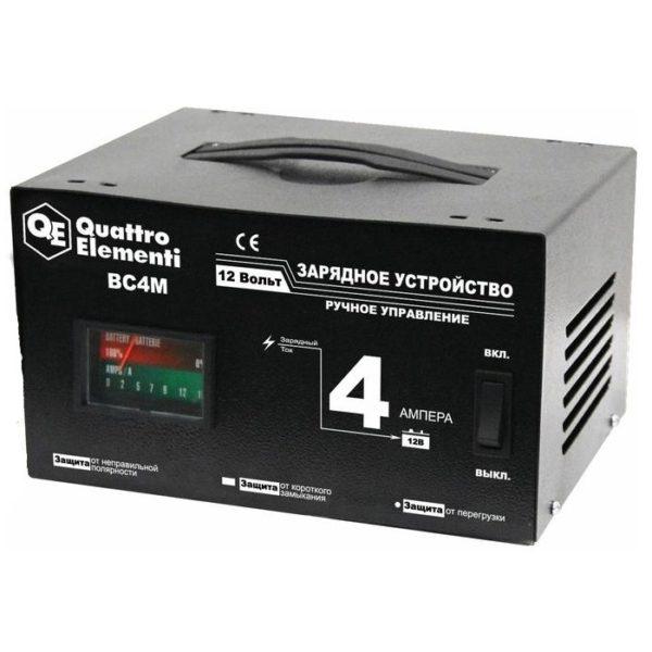 Зарядное устройство QUATTRO ELEMENTI BC4M