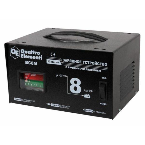 Зарядное устройство QUATTRO ELEMENTI BC8M