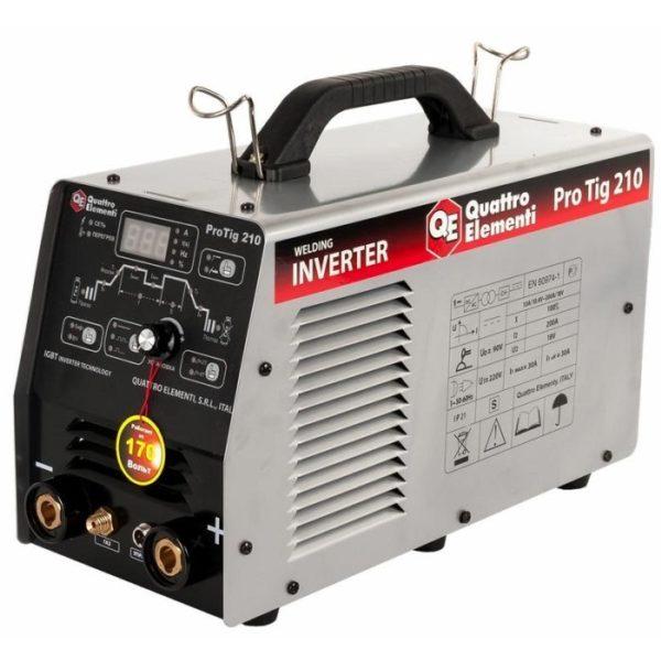Инверторный аппарат аргонно-дуговой сварки QUATTRO ELEMENTI ProTIG 210