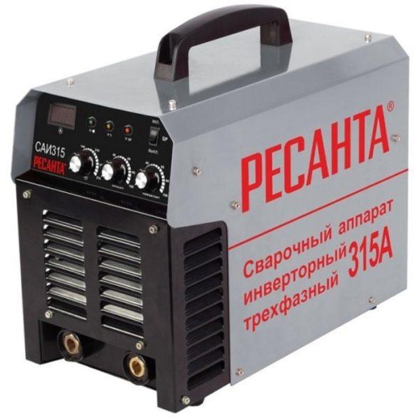 Инверторный сварочный аппарат РЕСАНТА САИ-315