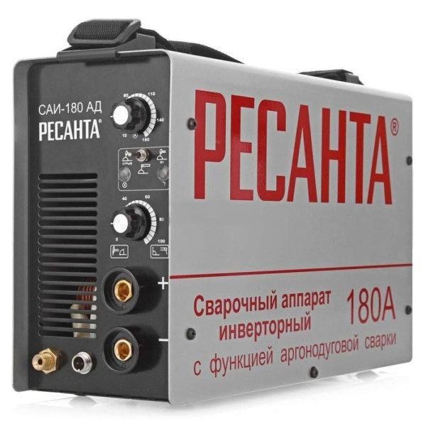 Инверторный аппарат аргонно-дуговой сварки РЕСАНТА САИ-180 АД