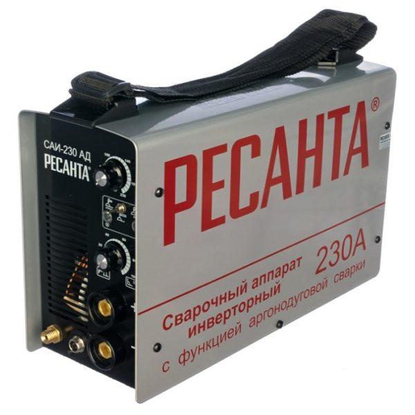 Инверторный аппарат аргонно-дуговой сварки РЕСАНТА САИ-230 АД