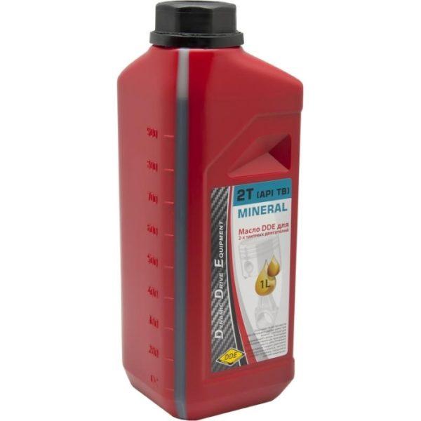 Масло для двухтактного двигателя DDE, 1 л.