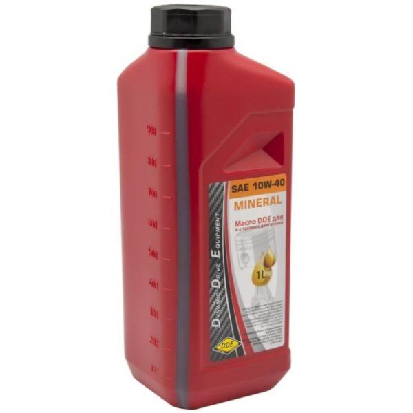 Моторное масло DDE 10W-40
