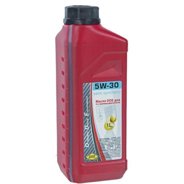 Моторное масло DDE 5W-30 (бензин/дизель)
