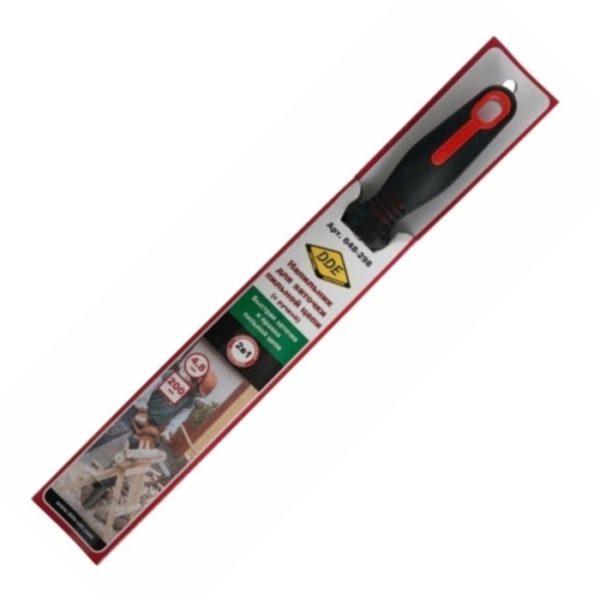 Напильник DDE круглый 4,8 мм, с ручкой